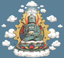 BuddhaPunkRobotMonk